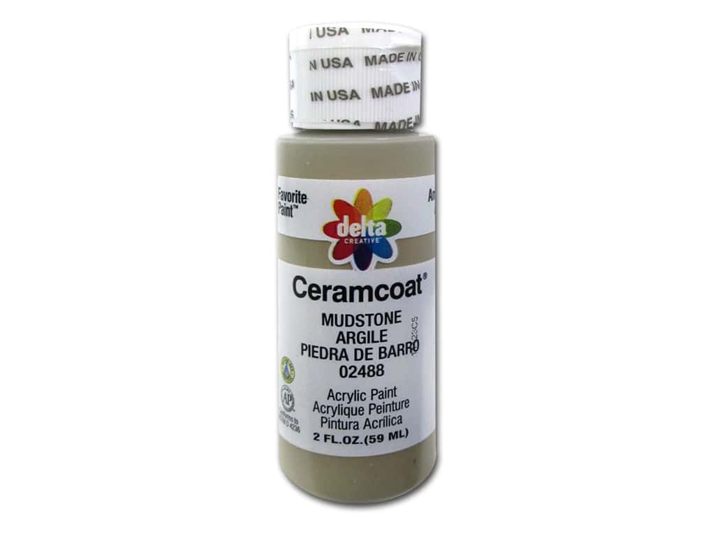 Ceramcoat Acrylic Paint by Delta 2 oz. #2488 Mudstone