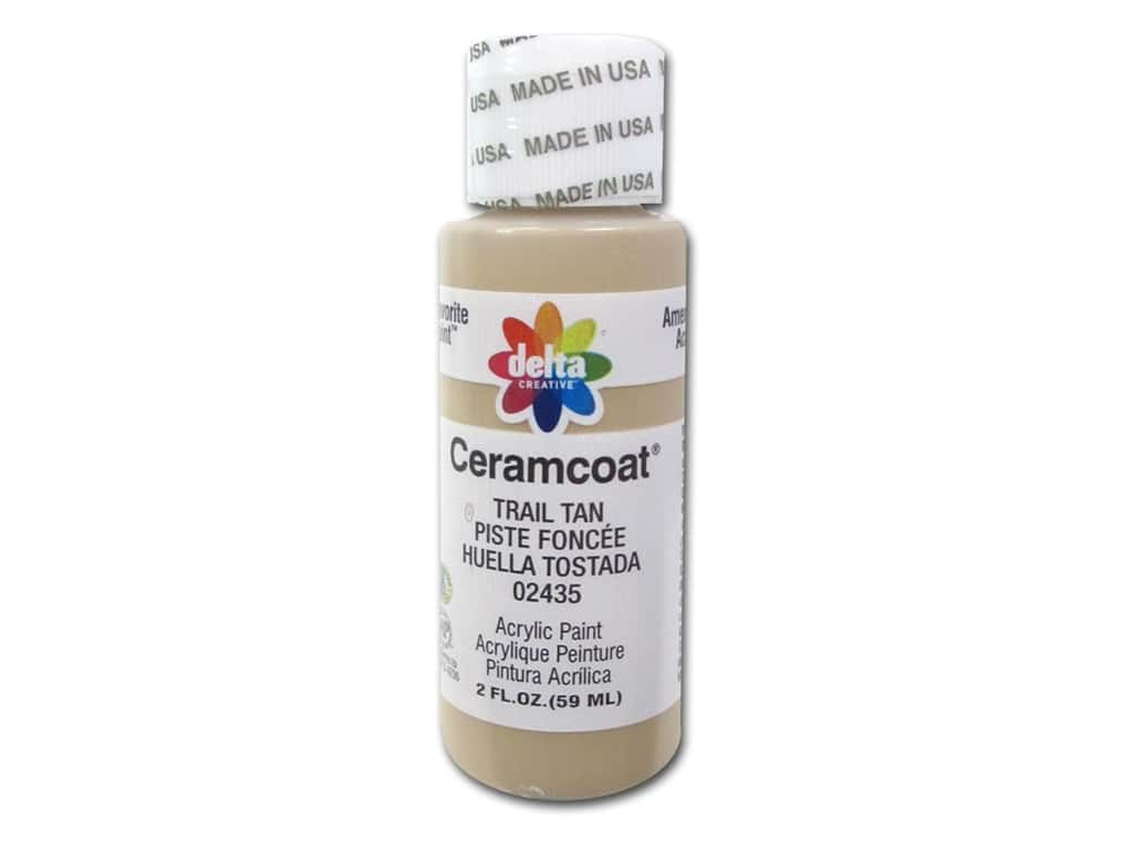 Delta Ceramcoat Acrylic Paint - #2435 Trail Tan 2 oz.