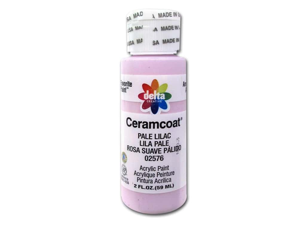 Delta Ceramcoat Acrylic Paint 2 oz. #2576 Pale Lilac