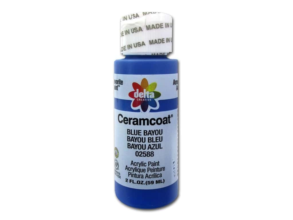 Delta Ceramcoat Acrylic Paint 2 oz. #2588 Blue Bayou