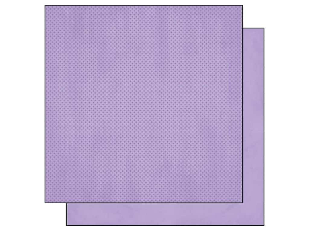 Bo Bunny 12 x 12 in. Paper Double Dot Collection Lavender (25 sheets)