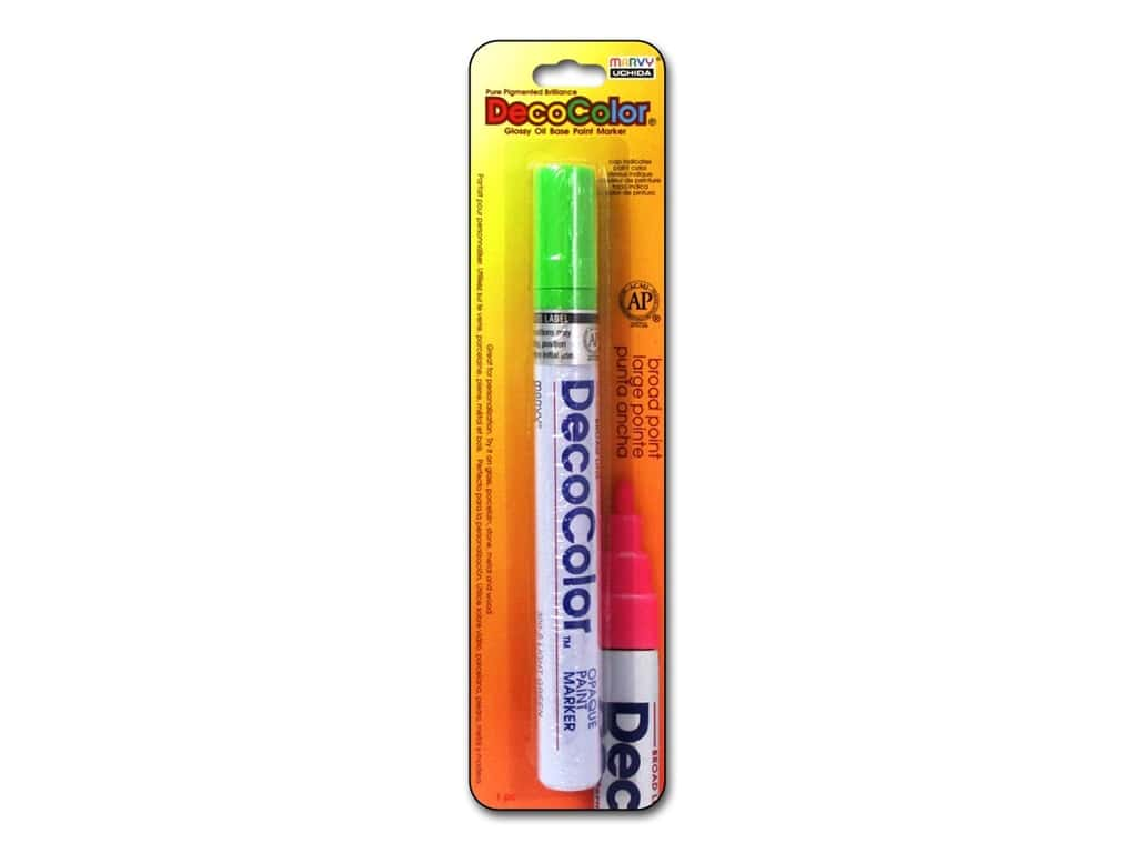 Uchida DecoColor Paint Marker Broad Point Light Green