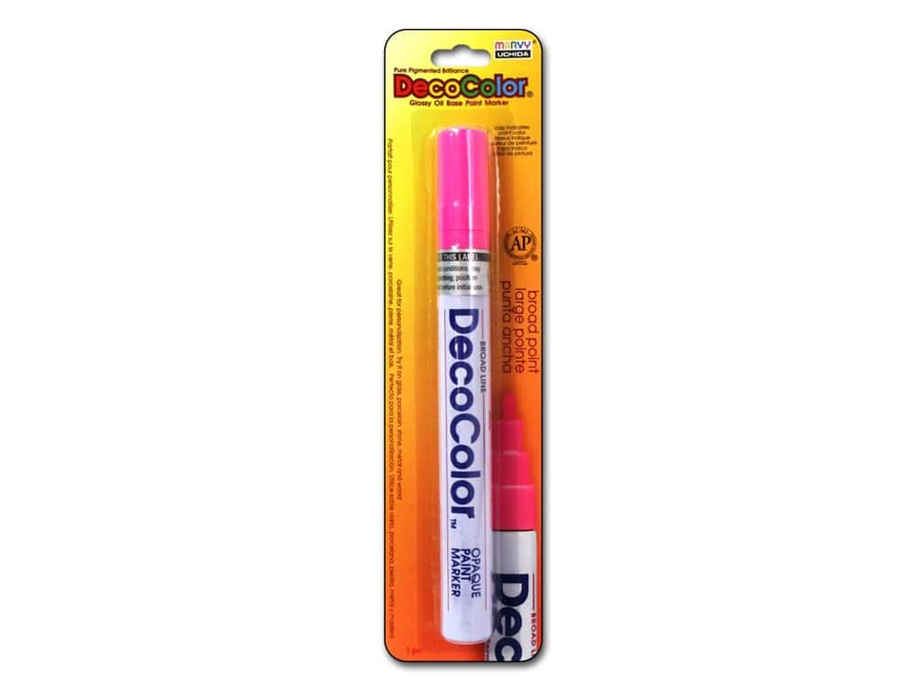 Uchida DecoColor Paint Marker Broad Point Rosemarie