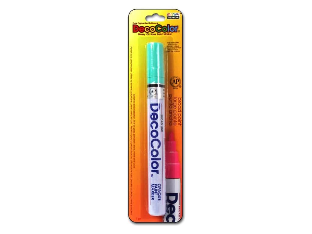 Uchida DecoColor Paint Marker Broad Point Peppermint