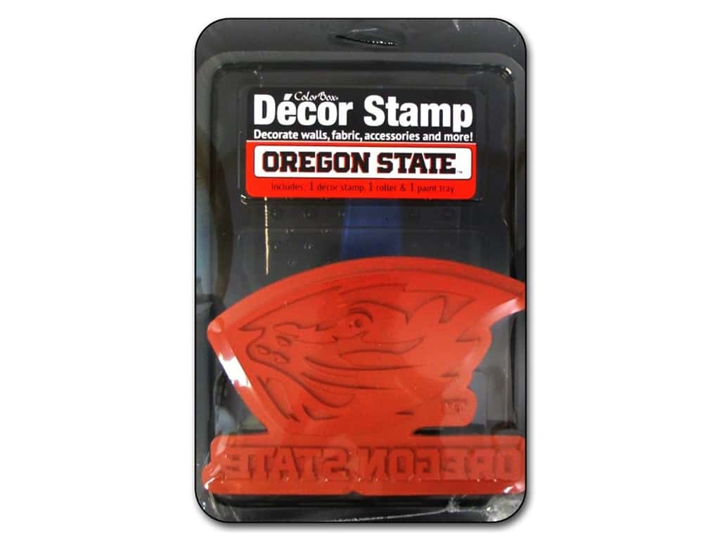 ColorBox Stamp Decor Oregon State University