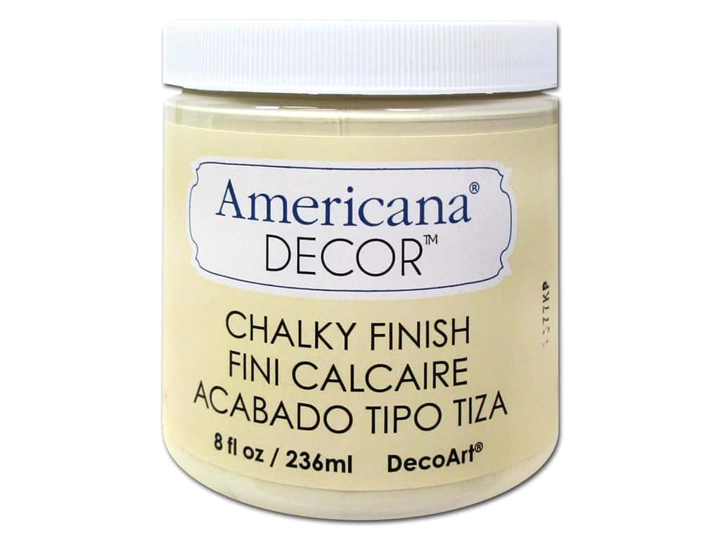 DecoArt Americana Decor Chalky Finish 8 oz. Whisper