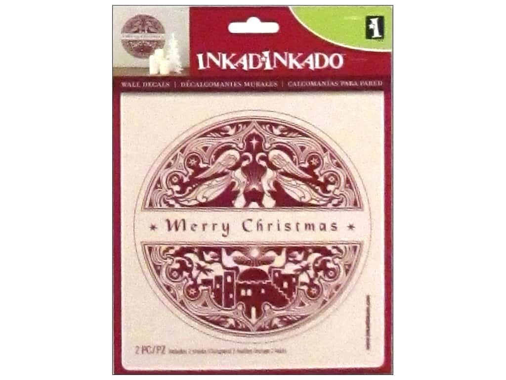 Inkadinkado Wall Decal Merry Christmas