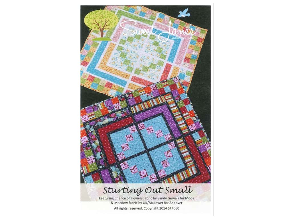 Sweet Jane's Designs Pattern - Starting Out Small