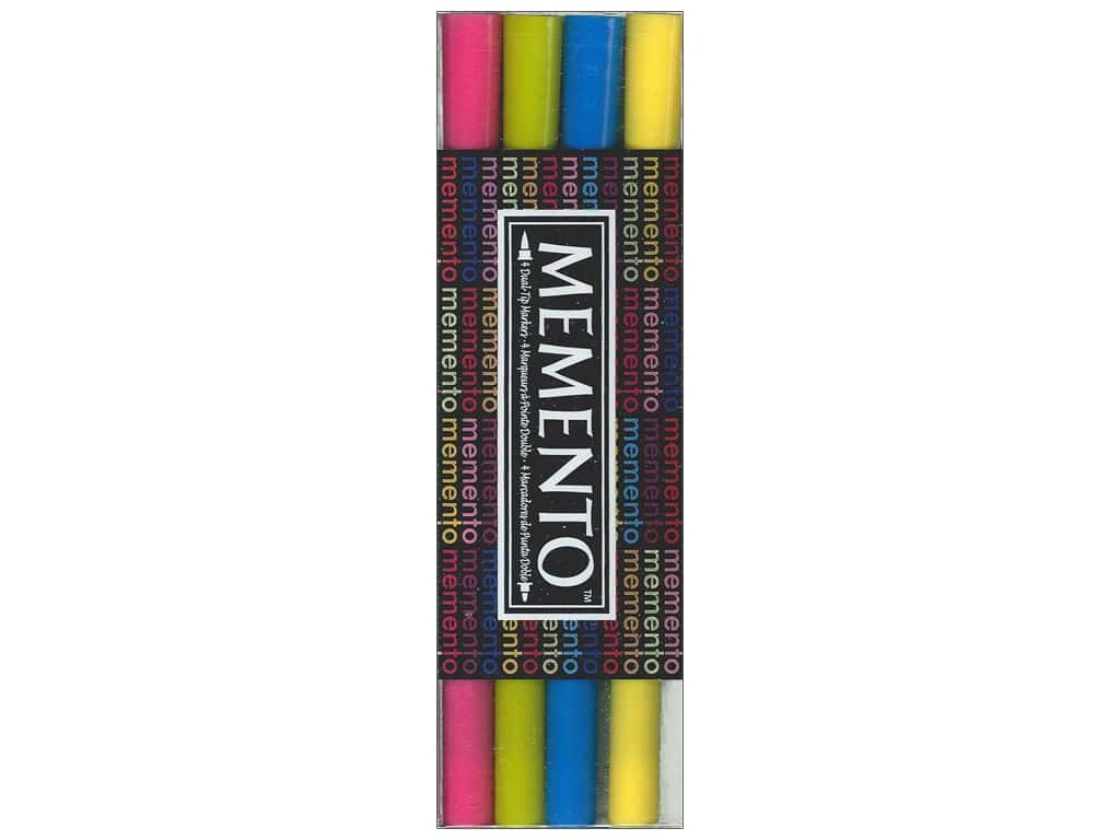 Tsukineko Memento Ink Marker Beach Party Set Of 4