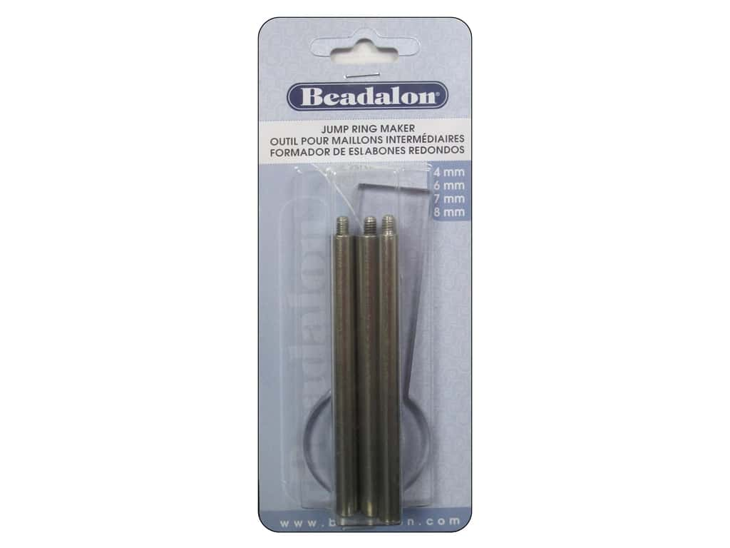 Beadalon Jump Ring Maker Sizes 4, 6, 7 and 8 mm Round