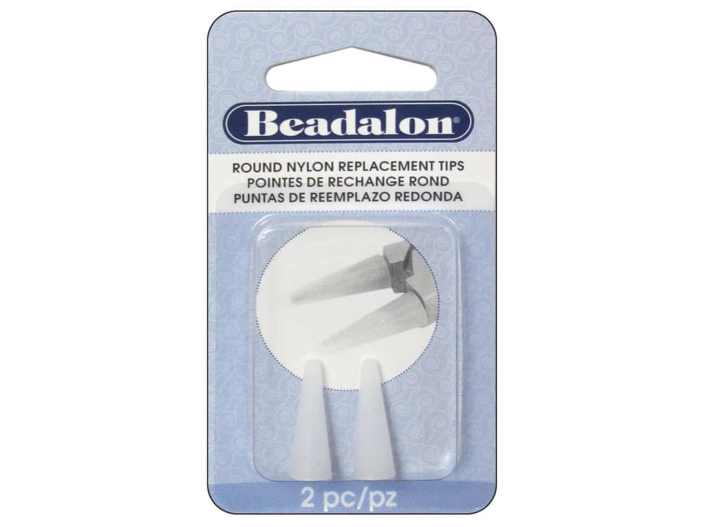 Beadalon Nylon Replacement Tips for Round Nose Pliers 2 pc.
