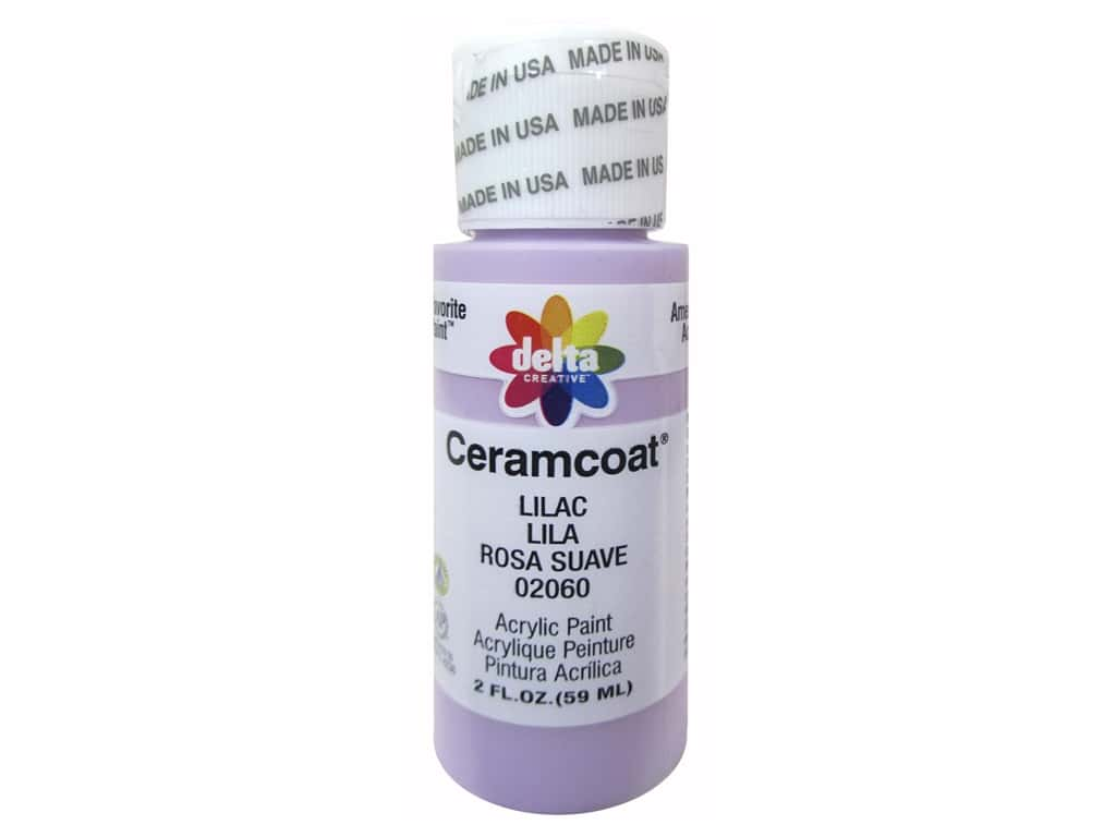 Ceramcoat Acrylic Paint by Delta 2 oz. #2060 Lilac