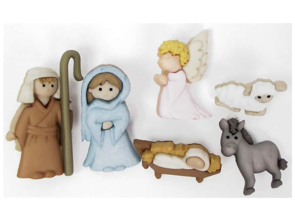 Jesse James Dress It Up Embellishments Nativity