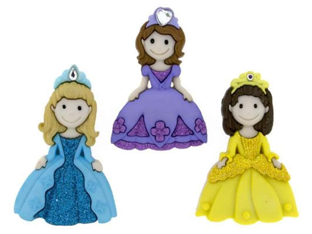 Jesse James Embellishments - Pretty Princesses