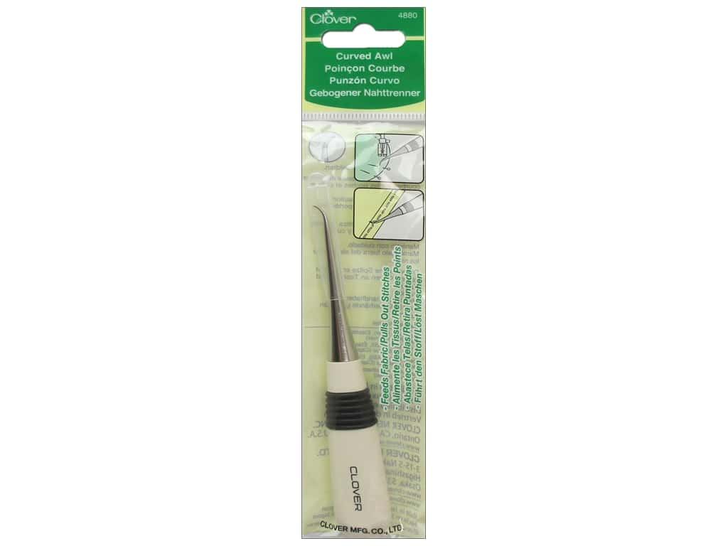 Clover Awl Curved Tailor's