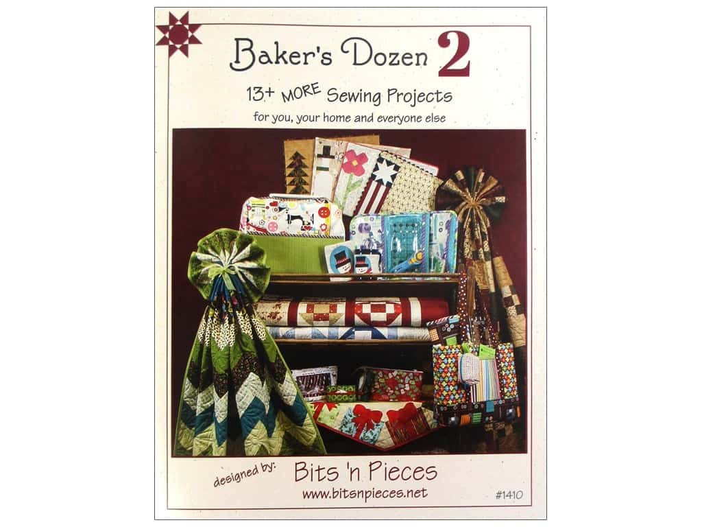 Bits 'n Pieces Baker's Dozen 2 Book by Julia H. Hale