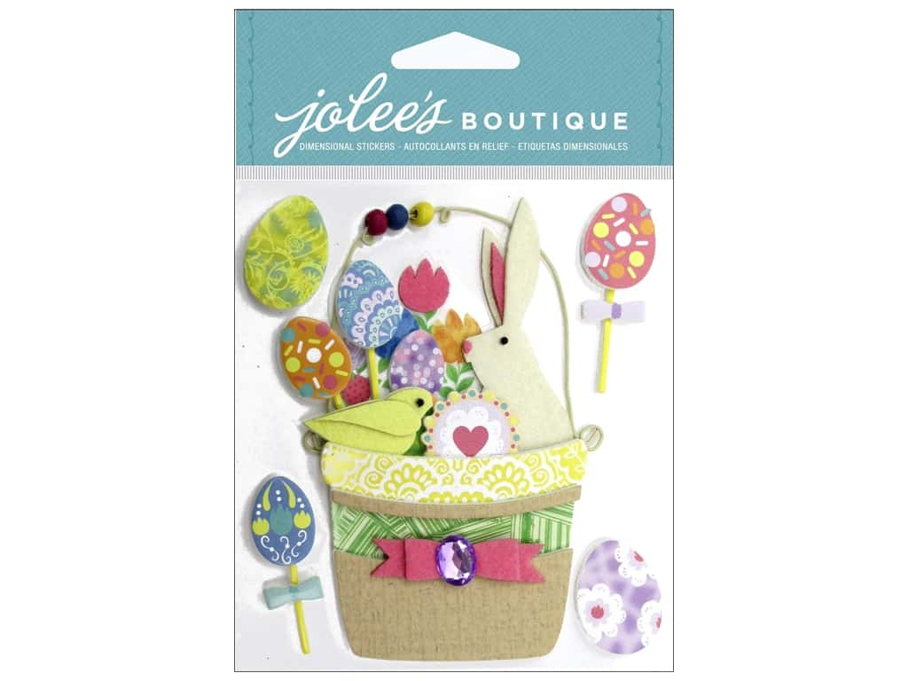 Jolee's Boutique Stickers Easter Basket