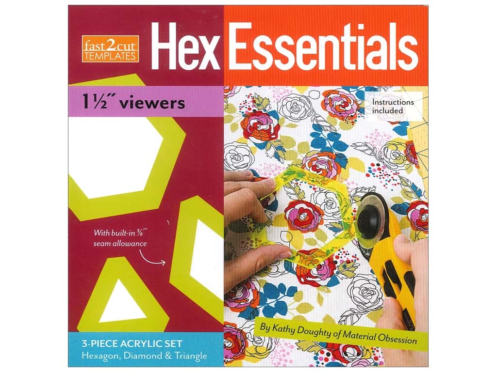 """Stash By C&T Fast2Cut Template Hex Essentials 1.5"""" Viewers"""