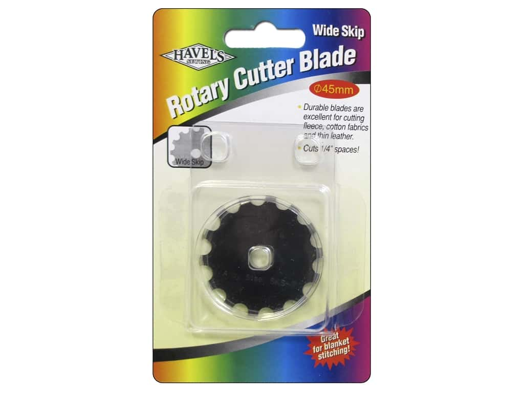 Havel's Inc Notions Rotary Cutter Blade Wide Skip