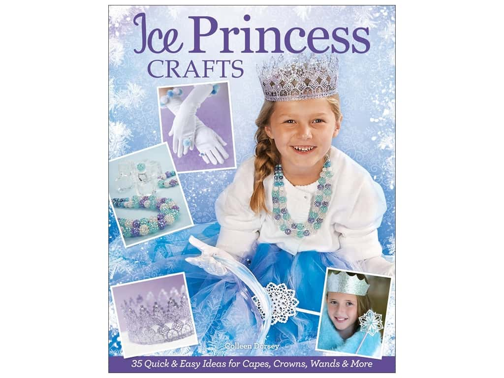 Design Originals Ice Princess Crafts Book
