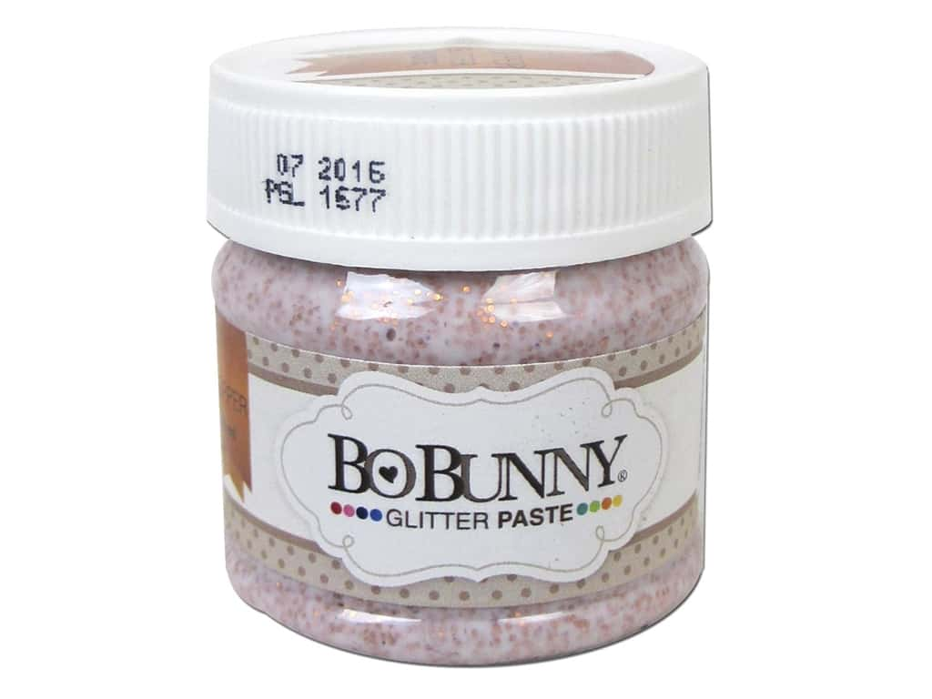 Bo Bunny Glitter Paste 1.69 oz. Copper