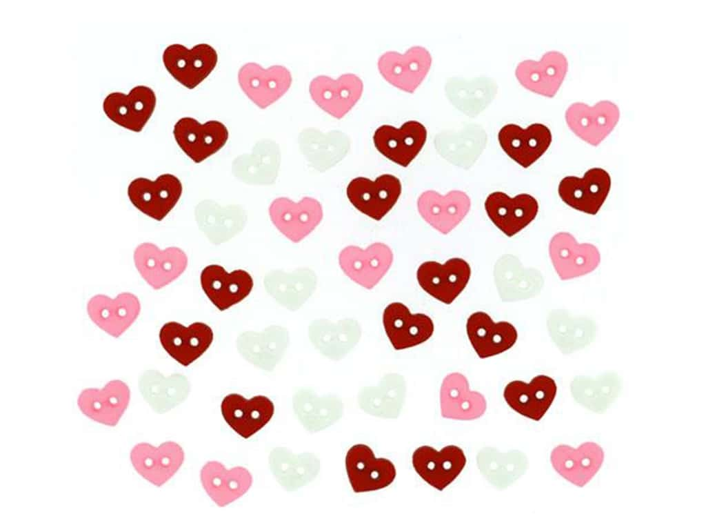 Jesse James Embellishments - Valentine Micro Hearts