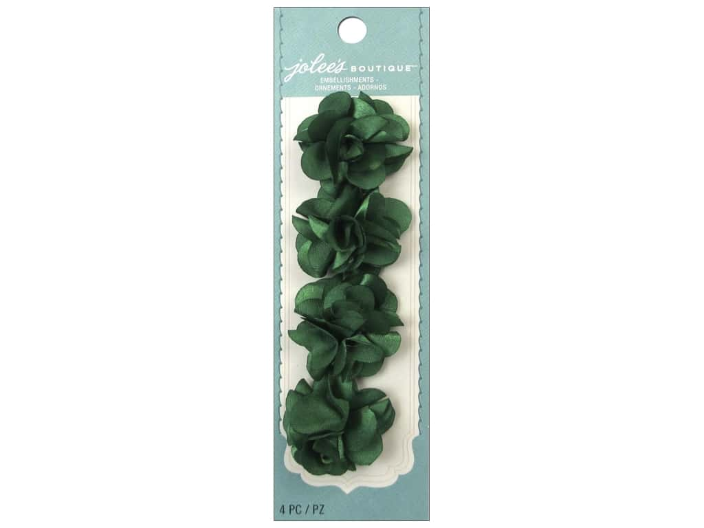 Jolee's Boutique Stickers Le Fleur Flower Mini Green