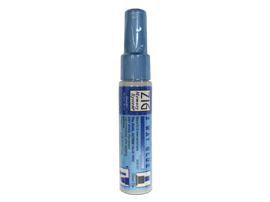 Zig Two Way Glue Chisel Tip Bulk .35oz