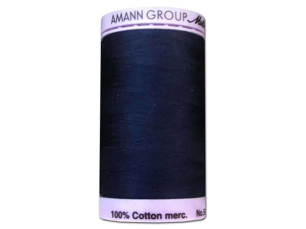 Mettler Silk Finish Cotton Thread 50 wt. 547 yd. #0825 Navy