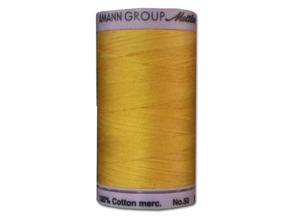 Mettler Silk Finish Cotton Thread 50 wt. 547 yd. #0120 Summersun