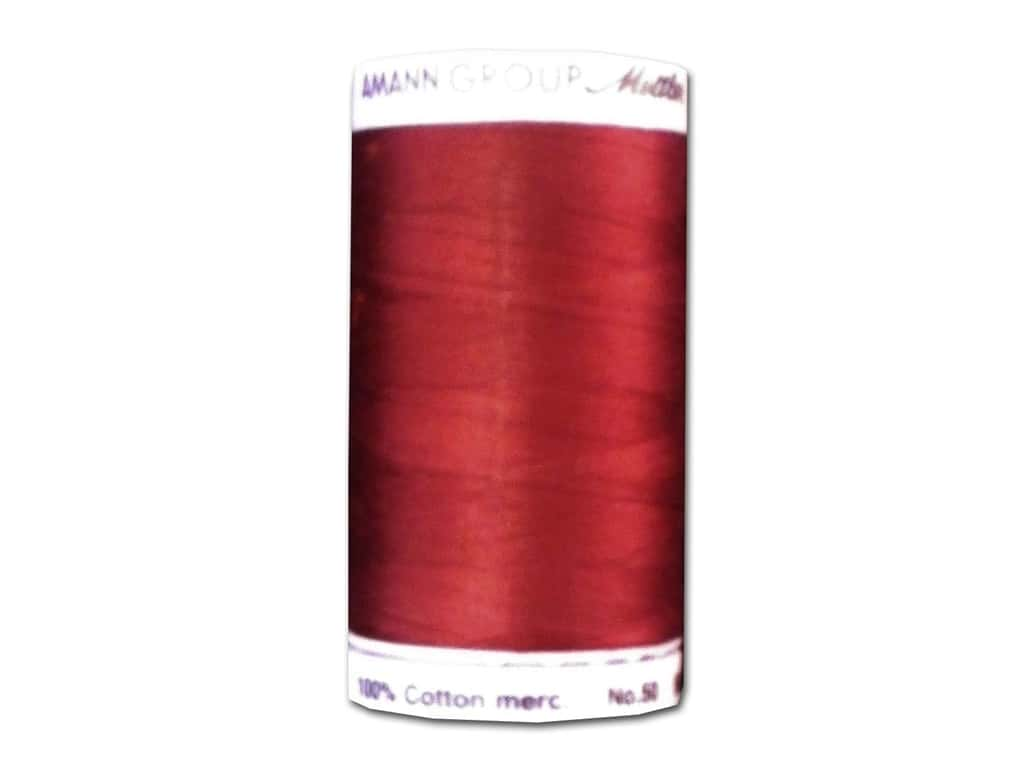 Mettler Silk Finish Cotton Thread 50 wt. 547 yd. #0918 Cranberry