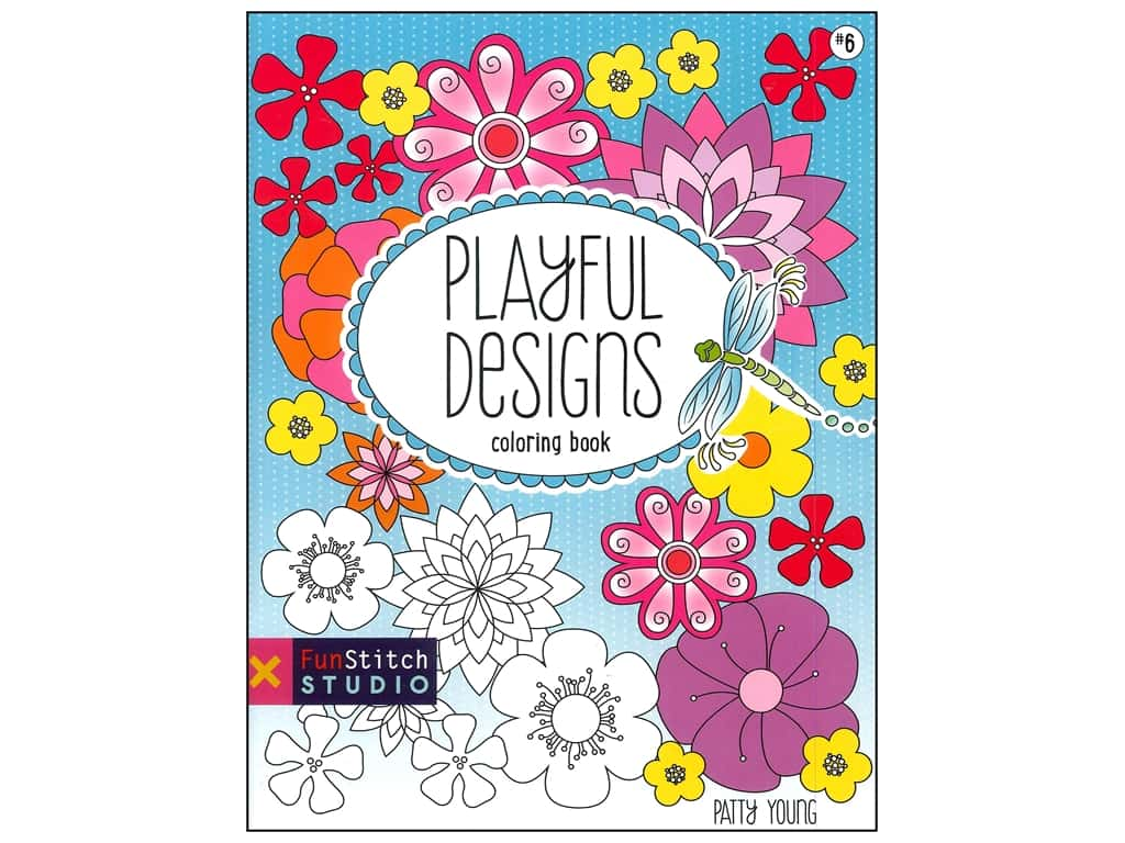 FunStitch Studio By C&T Playful Designs Coloring Book