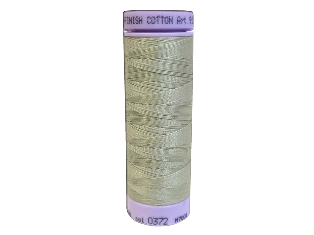 Mettler Silk Finish Cotton Thread 50 wt. 164 yd. #0372 Tantone