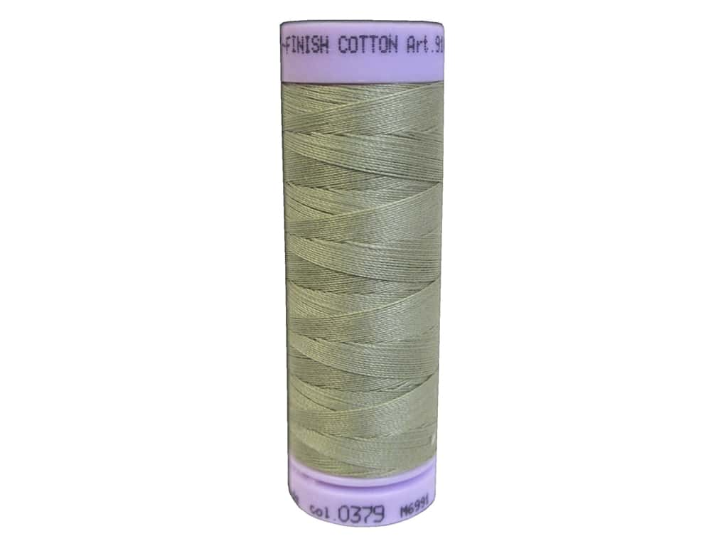 Mettler Silk Finish Cotton Thread 50 wt. 164 yd. #0379 Stone