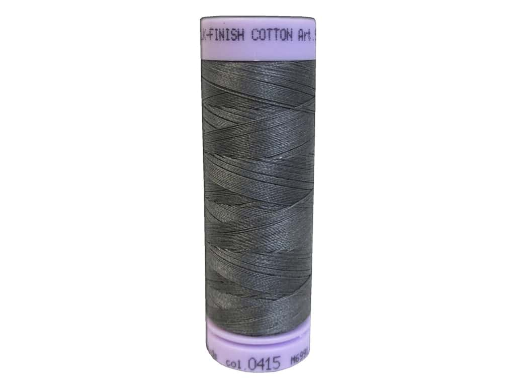 Mettler Silk Finish Cotton Thread 50 wt. 164 yd. #0415 Old Tin