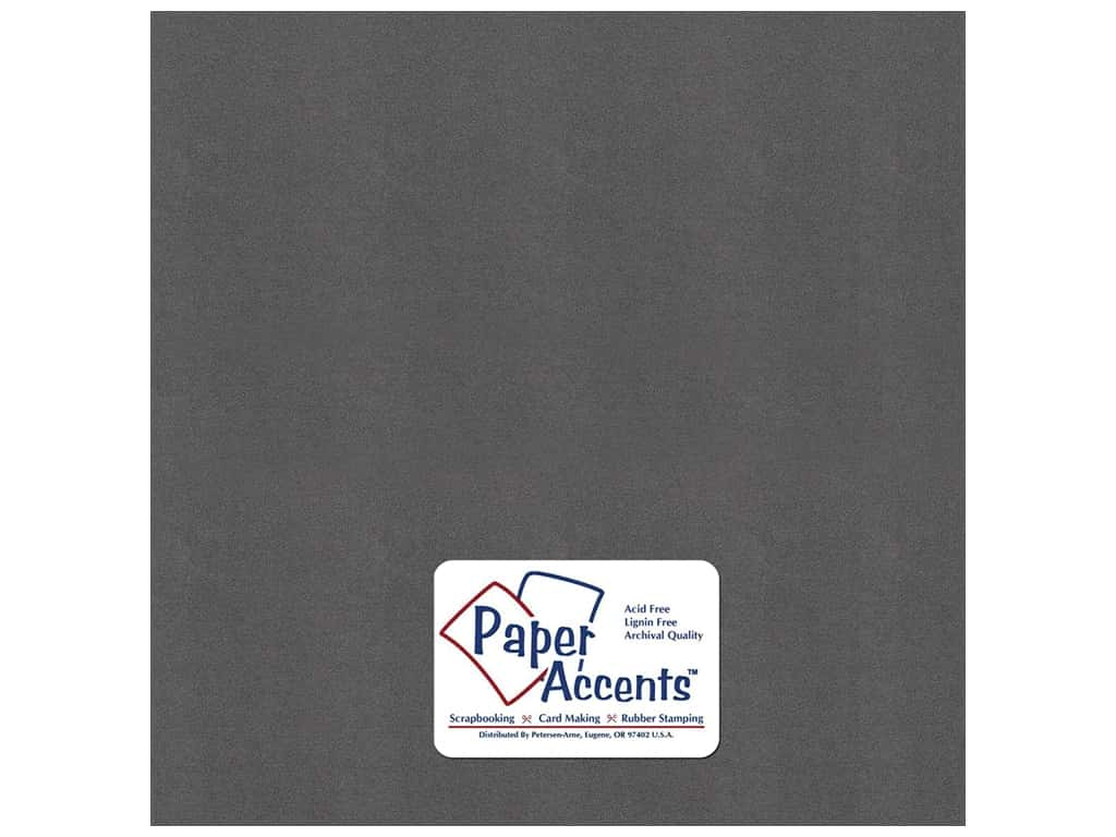Paper Accents Pearlized Paper 12 x 12 in. #8865 Titanium (25 sheets)