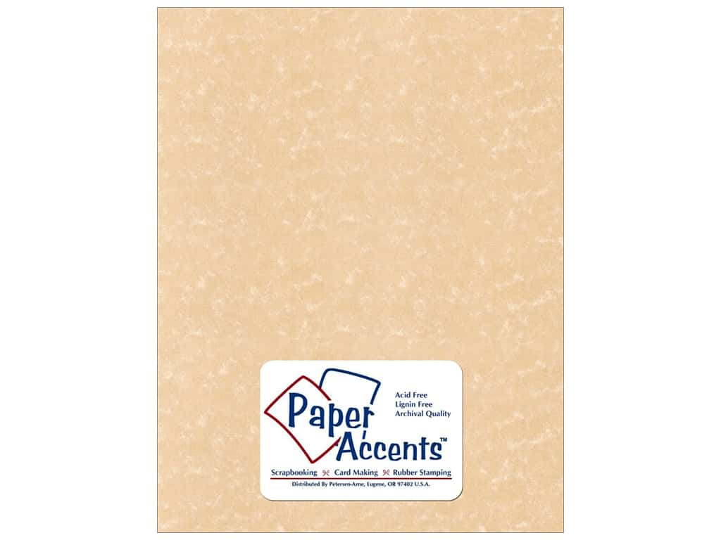 Paper Accents Cardstock 8 1/2 x 11 in. #219 Parchment Sand 25 pc.