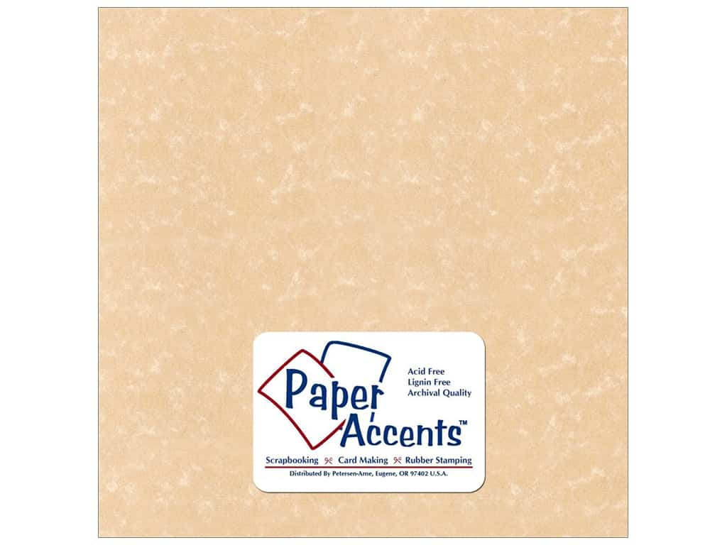 Paper Accents Cardstock 12 x 12 in. #219 Parchment Sand (25 sheets)