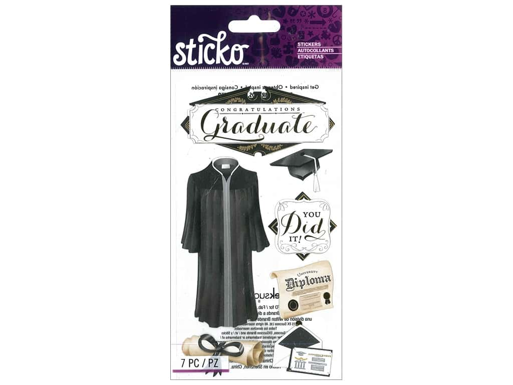 Sticko Stickers - Congratulations Grad