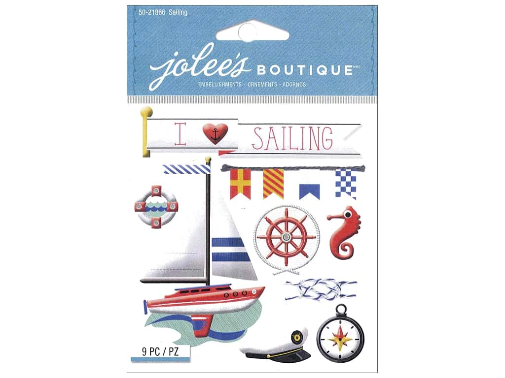 Jolee's Boutique Stickers Sailing