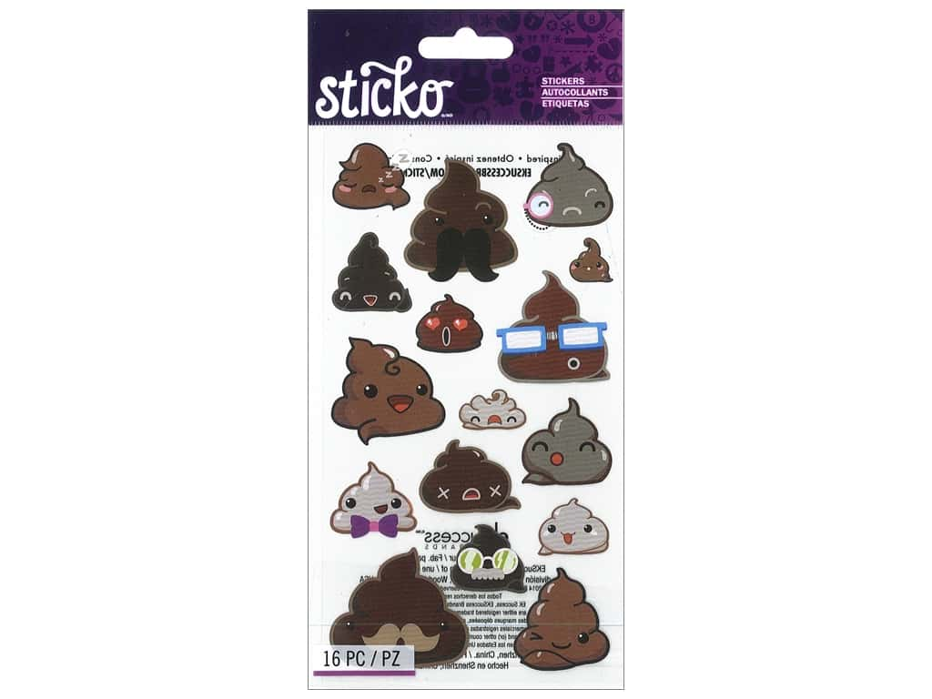 Sticko Stickers - Funny Frosting