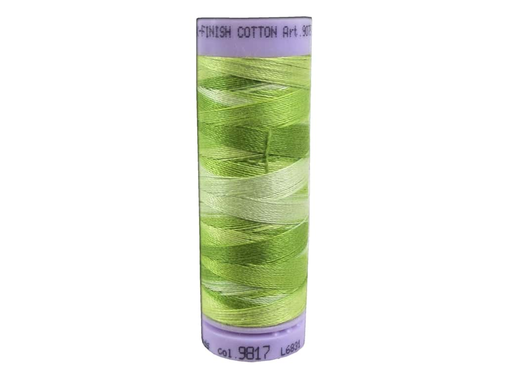 Mettler Silk Finish Cotton Thread 50 wt. 109 yd. #9817 Little Sprouts