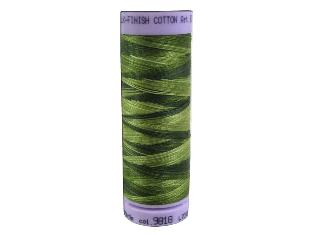 Mettler Silk Finish Cotton Thread 50 wt. 109 yd. #9818 Ferns