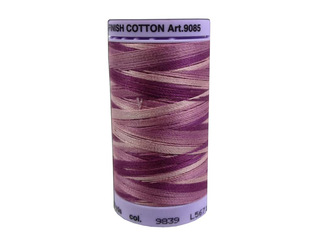 Mettler Silk Finish Cotton Thread 50 wt. 500 yd. #9839 Pink Flox