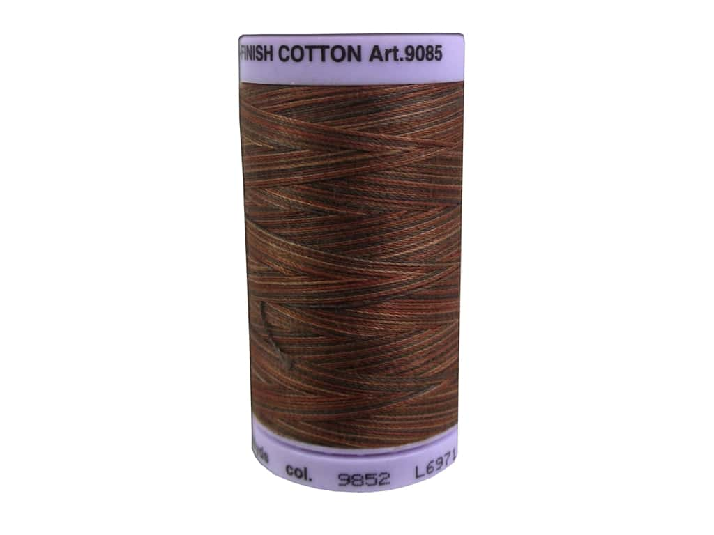 Mettler Silk Finish Cotton Thread 50 wt. 500 yd. #9852 Chocolatte