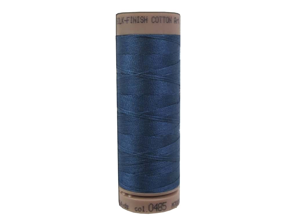Mettler Silk Finish Cotton Thread 40 wt. 164 yd. #0485 Tartan Blue