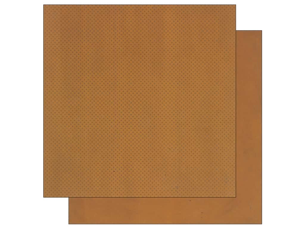Bo Bunny 12 x 12 in. Paper Double Dot Collection Gingerbread (25 sheets)