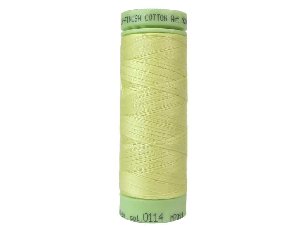 Mettler Silk Finish Cotton Thread 60 wt. 220 yd. #0114 Barewood