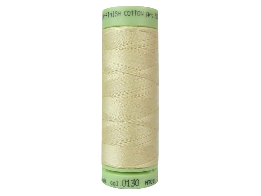 Mettler Silk Finish Cotton Thread 60 wt. 220 yd. #0130 Cornhusk