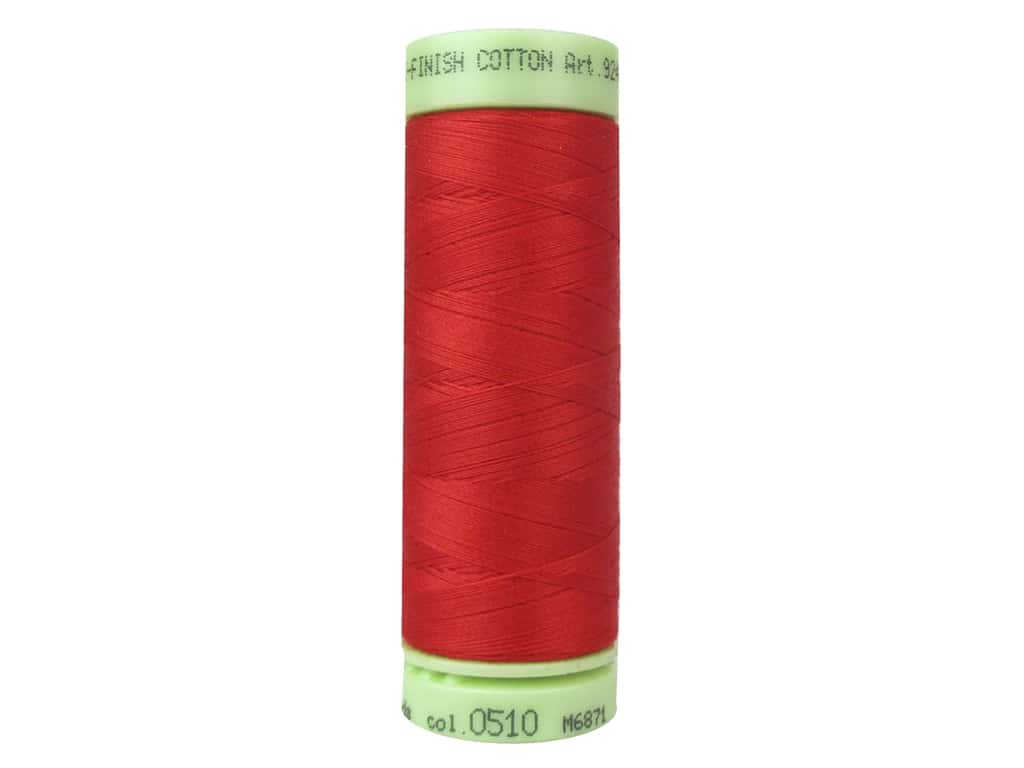 Mettler Silk Finish Cotton Thread 60 wt. 220 yd. #0510 Hibiscus